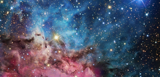 The Trifid Nebula, an interstellar nursery